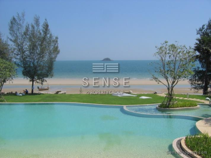 Stunning 1 Bedroom Beachfront for Sale at Huahin